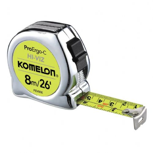 Komelon ProErgo-C Tape Measure 8m/26ft (Width 25mm)
